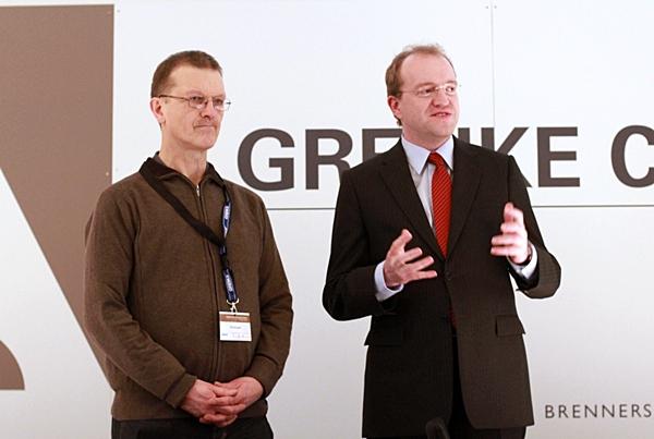 Herbert Bastian und Sven Noppes